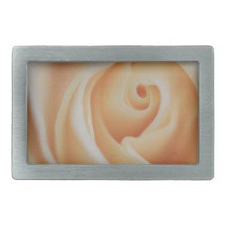 Perlen-Weiß-Rose Rechteckige Gürtelschnallen