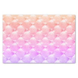Perliges Ombre Pfirsich-Rosa-lila büscheliges Seidenpapier
