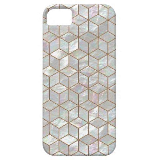 Perlmutt deckt iPhone 5/5S Kasten mit Ziegeln iPhone 5 Schutzhüllen