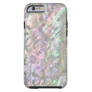 PERLMUTTdruck Rosa-Grün Tough iPhone 6 Hülle