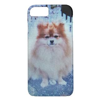 Perry der Pekingese Hund iPhone 8/7 Hülle