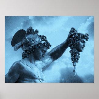 Perseus gegen Medusa Poster