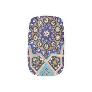 Persische Himmel-Nagel-Kunst Minx Nagelkunst