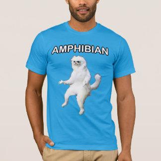 Persische Katzen-Raum-Wächter amphibisch Meme T-Shirt