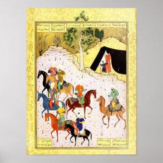 Persische Miniatur: Meine Gastfreundschaft ist Poster