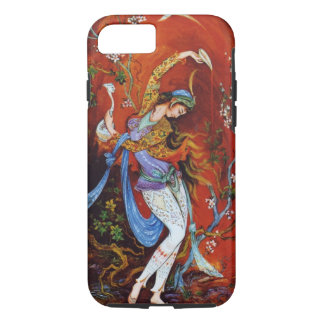 Persische Miniaturtanzen-Nymphe iPhone 8/7 Hülle