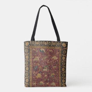 Persische Tierteppich-Tasche Tasche