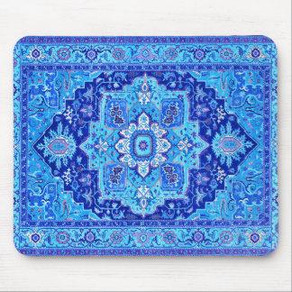 PERSISCHE WOLLDECKE - Blau Mousepad