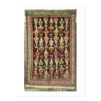 Persischer Teppich, 19.-2. Jahrhundert Postkarte