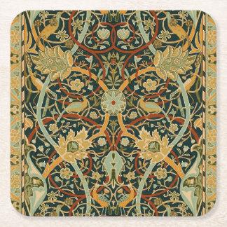 Persischer Teppich-Kunst-Druck-Entwurf William Rechteckiger Pappuntersetzer