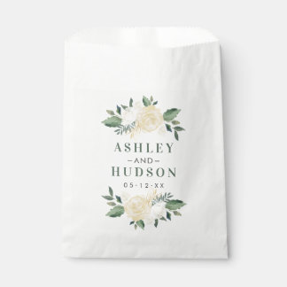 Person-Blüte des Hochzeits-Monogramm-  Geschenktütchen
