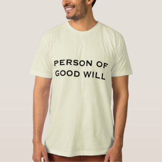 PERSON VON GOODWILL T - Shirt