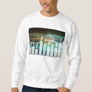 Personal-Leistungsbewertung mit den Leuten stehend Sweatshirt
