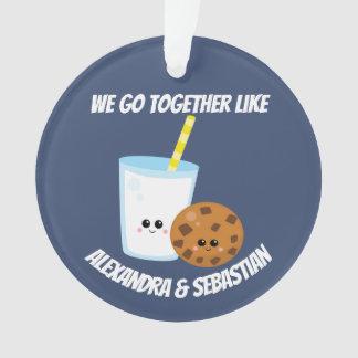 Personalisiert gehen wir zusammen wie Milch und Ornament