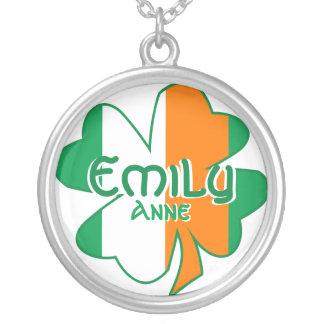 Personalisiert Ihre irische Versilberte Kette