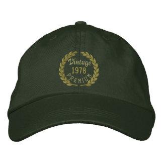 Personalisiert Ihre JAHR erstklassige Bestickte Kappe
