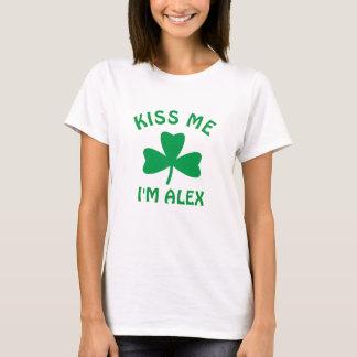 Personalisiert küssen Sie mich St Patrick T-Shirt