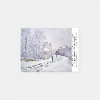 Personalisiert mit Post-It Claudes Monet Post-it Klebezettel