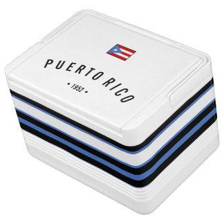 Personalisiert, Puerto- Ricoflagge Kühlbox