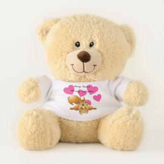 Personalisiert seien Sie mein Valentine-Bär Teddybär
