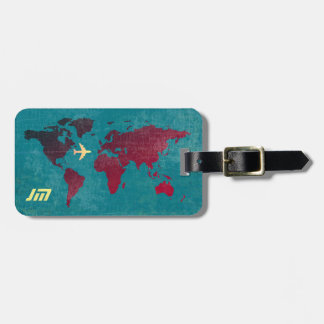 personalisiert u. stilvoll, kofferanhänger
