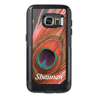 Personalisiert wählen Sie Hintergrund-rote OtterBox Samsung Galaxy S7 Hülle