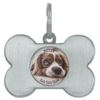 Personalisiert, wenn gefundener Anruf, Tiermarke