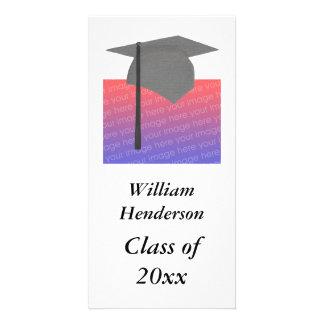 Personalisierte Abschluss-Fotokarten Fotokartenvorlagen