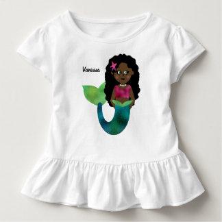 Personalisierte afrikanische amerikanische kleinkind t-shirt