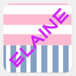Personalisierte Aufkleber Elaine