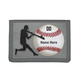 Personalisierte Baseball-Geldbörsen für Typen