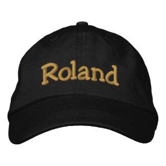 Personalisierte Baseballmütze Rolands/Hut Bestickte Baseballkappe