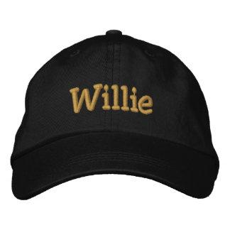 Personalisierte Baseballmütze Willie/Hut Bestickte Baseballkappe