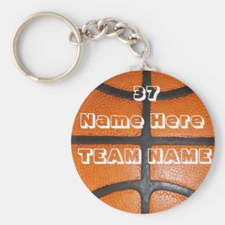 Personalisierte Basketball-Geschenke für Jungen u. Schlüsselanhänger