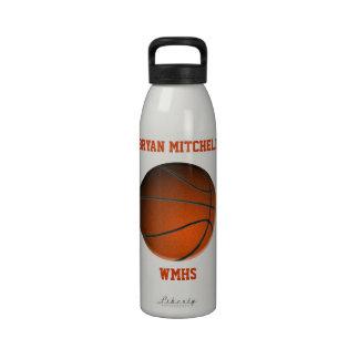 Personalisierte Basketball-Spieler-Namen-Freiheits Wasserflaschen