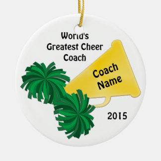 Personalisierte Beifall-Trainer-Geschenke mit 8 Keramik Ornament