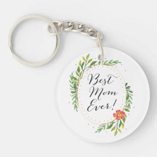 Personalisierte beste Mamma überhaupt Keychain Schlüsselanhänger