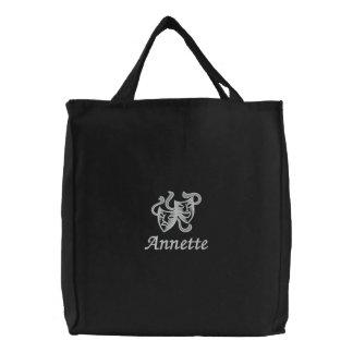 Personalisierte Bestickte Einkaufstasche