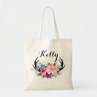 Personalisierte Brautjungfern-Taschen-Tasche Tragetasche