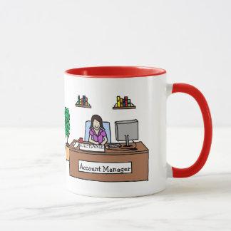 """Personalisierte Cartoon-Tasse """"des Tasse"""