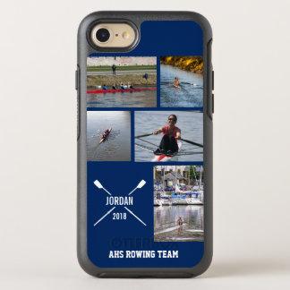 Personalisierte Crew-Rudersport-Ruder-Foto-Collage OtterBox Symmetry iPhone 8/7 Hülle