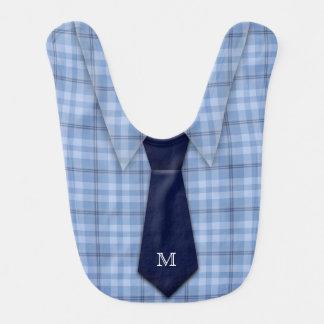 Personalisierte das Shirt-Krawatten-lustiges Lätzchen