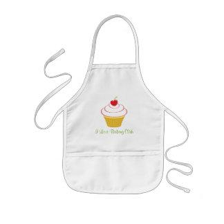 Personalisierte der Kochs-Schürze des Kindes mit Kinderschürze