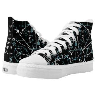 Personalisierte Designer-Physik-Geschenke für Hoch-geschnittene Sneaker