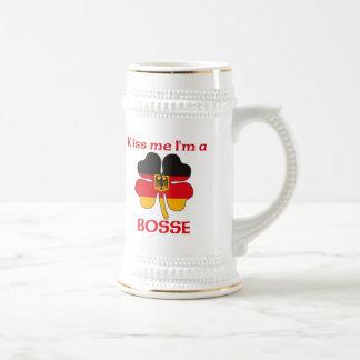 Personalisierte deutsche küssen mich, den ich Boss Tasse