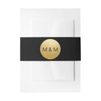 Personalisierte elegante kundenspezifische einladungsbanderole