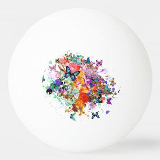 Personalisierte Farbenspritzen Tischtennis Ball
