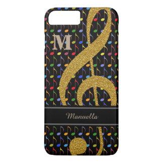 personalisierte Farbmusikalische Anmerkungen iPhone 8 Plus/7 Plus Hülle