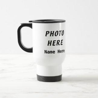 Personalisierte Foto-Kaffee-Reise-Tassen
