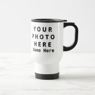 Personalisierte Foto-Kaffee-Reise-Tassen 2 Fotos